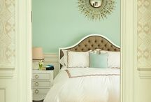 Pastel + White Interiors