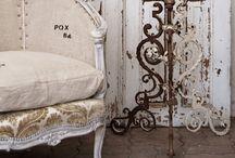 White Mixed Antique Interiors