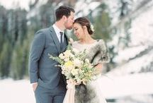 Twin Lakes Editorial / Faux Fur / Royal Scout and Co. Photography / Alex Thornton. Floral and Event Design / Kennedy Occasions. Planning and orchestration / Christie Osborne of the Mountainside Bride. Hair and Makeup / Allure Salon. Venue / Tamarack Lodge and Twin Lakes. Bridal Salon: Wildflower Bridal. Wedding Dress Designer / Anna Kara. Groom's Suit /The Black Tux. Models: Kalyn Lepre & Josh Wray. Silk Ribbon / FrouFrou Chic. Letterpress Invitation / Brown Linen Designs. Calligraphy / Olive Juice Press.