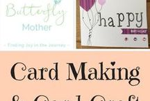 Card Craft & Card Making / My beginner attempts at card craft & card making