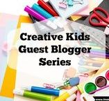 Creative Kids - Guest Blogging Series / A guest blogger series all about the arts, crafts & messy play ideas we share with our kids, hosted by The Butterfly Mother