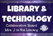 Library and Technology / This collaborative board is for posting technology integration ideas as well as products (both free and for sale) that relate to school libraries and technology, including makerspaces.  Please limit TpT product pins to *ONE* per day, and mark in the description if they are paid ($) or free.  Also, please spread out similar pins out so they are not repeated over and over at the top. / by Mrs. J in the Library