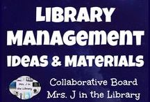 Library Management Ideas and Materials / Ideas and products (both FREE and for sale) for managing a school library - Signs, displays, parent communication, programs, grant applications, etc.  Please limit your TpT product pins to *ONE* per day.  Also, please spread out similar pins out so they are not repeated over and over at the top.