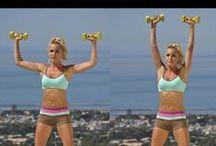 EXERCISE EXERCISE PARA LOS COLGANTES PELLEJITOS!!! / #ejercicio físico #salud # exercises #health #en forma #körperliche Übungen #Wohlsein / by Marinieves Morales