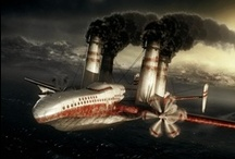 Steampunk : Moyens de transport / Voitures, moto, bateaux, dirigeables...