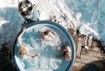 Whirlpool & Hot Tub Parties / Ob als Abkühlung im Sommer oder Aufwärmen im Winter. Mit unseren mobilen Whirlpools fällt jede Party ins Wasser! 360 Tage im Jahr!!! Mieten Sie sich den Partygag und machen aus Ihrer Cocktailparty eine Pool Party die unvergesslich bleibt.