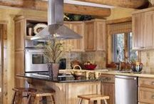 Kitchens by Wisconsin Log Homes - National Design & Build - www.wisconsinloghomes.com / Kitchens by Wisconsin Log Homes - National Design & Build Services - Log, Timber Frame & Hybrid Homes - www.wisconsinloghomes.com