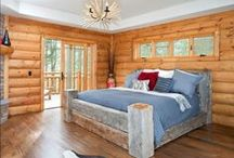 Bedrooms by Wisconsin Log Homes - National Design & Build Services - www.wisconsinloghomes.com / Bedrooms by Wisconsin Log Homes - National Design & Build Services - Log, Timber Frame & Hybrid Homes - www.wisconsinloghomes.com