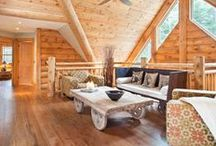 Special Spaces by Wisconsin Log Homes - National Design & Build - www.wisconsinloghomes.com / Special Spaces by Wisconsin Log Homes - National Design & Build Services - Log, Timber Frame & Hybrid Style Homes - www.wisconsinloghomes.com