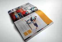 Graphic design templates/inspiration / Photoshop/InDesign/Illustrator Templates