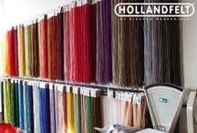 HOLLANDWOOL & HOLLANDFELT / Take a look inside our warehouse