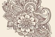 paisleytattoo / paisley and other tattoo designs / motifs