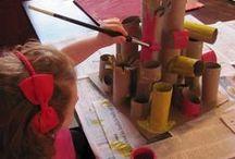 kézműves gyerkekkel
