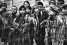 WW II - Nazi concentration camps / WARNING!!!  These photos are gruesome, nauseating, and unbelievable.  Unless you have a strong stomach, I'd advise against reviewing this board.  Man's inhumanity to man.  Incredible... / by Connie Thompson