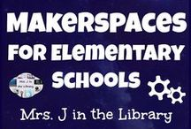 Makerspaces for Elementary Schools / Blog posts, ideas, products, and teaching materials for starting and maintaining an elementary school makerspace and/or elementary library makerspace