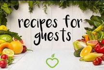 recipes for guests / recipes