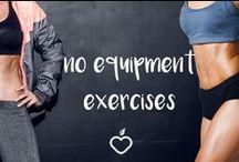 no equipment exercises