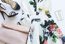 formal style + beauty ♣︎ / Cute outfit and makeup ideas for formal events and parties