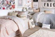 dorm decor tips + inspo ☾ / ideas for decorating your dorm room // how to decorate your dorm room on a budget