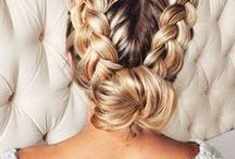 cute and easy hairstyles ✿ / Cute and easy hairstyles for college, work, and everyday looks