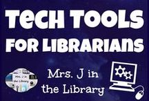 Tech Tools for Librarians / Technology tools, apps, and resources to help teacher-librarians and library media specialists teach students, manage the school library, and advocate for their program.