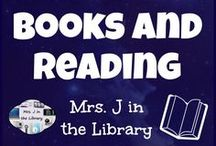 Books and Reading / Print / paper books and reading will always hold a special place in a librarian's heart.  The best books and ideas to promote reading in your school library!