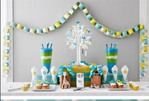 Baby Shower Ideas / Creative ideas for planning your baby shower. / by Quilts Just 4 Kids