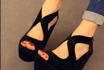 Shoes / by Nathalie Brunet-Deschamps