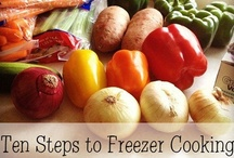 Freezer & Bulk Cooking / Tips and ideas on freezer-to-crockpot meals and how to freeze fruits and veggies. / by Anns Craft House