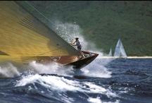 Boats, Boats, Boats / Classic power boats and yachts under sail.