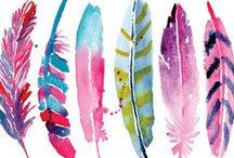 watercolors / by Ana Ms
