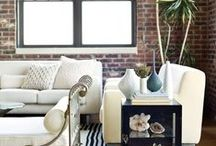 Loft Space Ideas / A collection ideas for my future loft downtown.