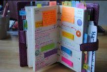 Daily Planner/Organizer / by Nathalie Brunet-Deschamps