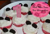 Toddler's First, Second, Third Birthdays / Toddlers first, second and third birthday with decorations and cooking ideas