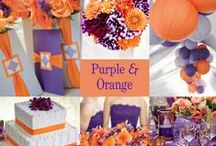Purple and Orange