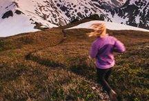 let's move / Running, climbing, biking, hiking