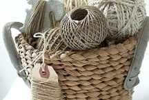 String, Thread, Twine & Yarn / by Kim-Country Girl at Heart