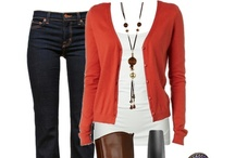 Wardrobe Ideas - Casual Summer/Winter / I love ideas for outfits that show you how to accessorize