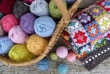 Artisanat, crochet, tricot / by Lorene Sakya Lalonde