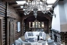 INTERIOR - CHALET / CABIN / LODGE STYLE / Feel free to copy photos uploaded by The Essence of the Good Life™ to your own Pinterest page ore other pages. But you are not allowed to remove or change the text/links below the images. Thank You!