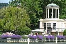 Henley  / Elegant wedding at temple island; Henley-on-Thames