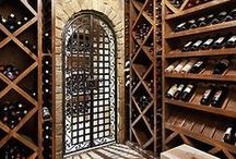 INTERIOR - WINE CELLAR / Feel free to copy photos uploaded by The Essence of the Good Life™ to your own Pinterest page ore other pages. But you are not allowed to remove or change the text/links below the images. Thank You!