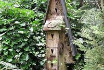 GARDEN - BIRD / DOVE HOUSES / Feel free to copy photos uploaded by The Essence of the Good Life™ to your own Pinterest page ore other pages. But you are not allowed to remove or change the text/links below the images. Thank You!