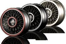 Modern Wire Wheels for Automobiles