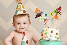 Inspiration: Boys First Birthday Session