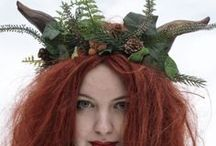 The Changeling's Closet / Fantastical hats and accessories by yours truly, available at http://www.changelingscloset.com