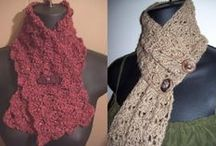Головные уборы, шарфы, шали