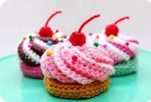 Вязаный десерт