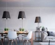 Floor Lamps / #design #floor #home #decor #interior #living #lamps #axolight #light #lighting