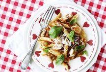 3 nemme med pasta / 3 nemme opskrifter med pasta